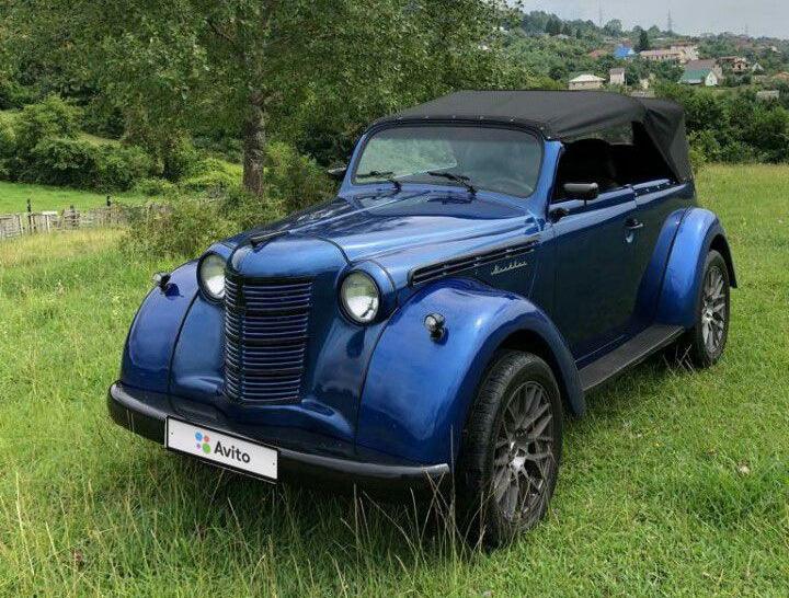 Старый «Москвич» с мотором от Toyota продают за 23 тысячи долларов 1