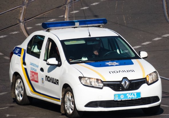 Одесская полиция покупает французские машины 1