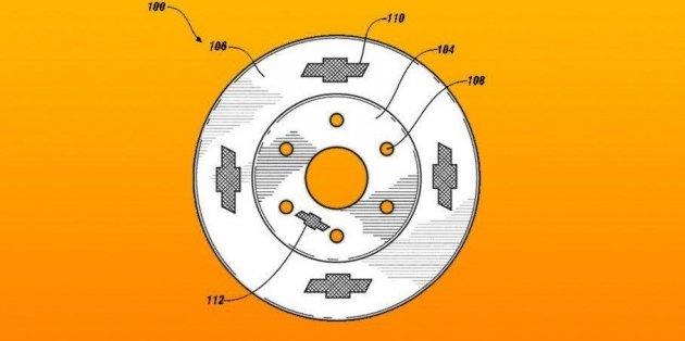 Chevrolet запатентовал странные тормозные диски 1