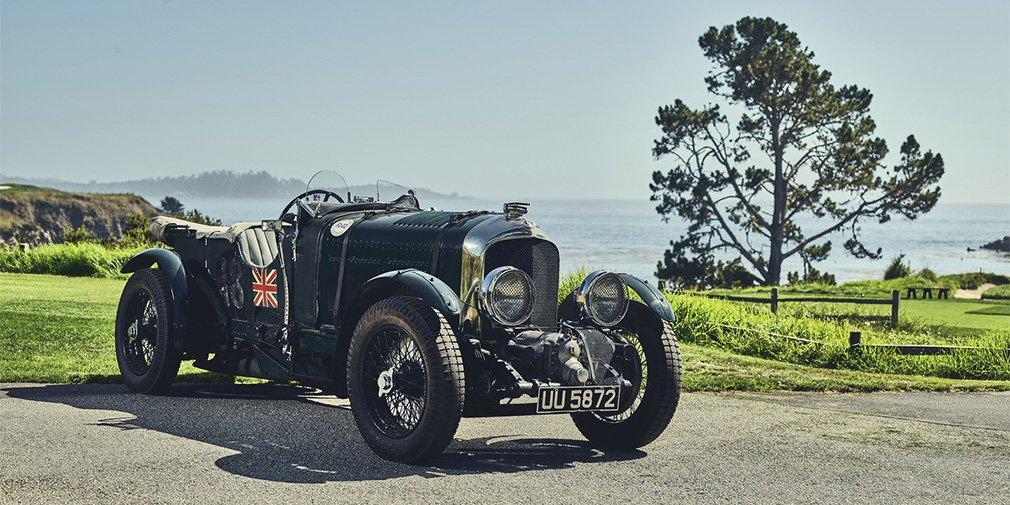 Bentley возродил довоенный спорткар Blower 1