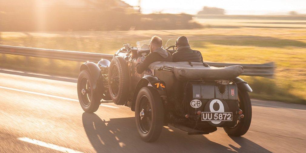 Bentley возродил довоенный спорткар Blower 2