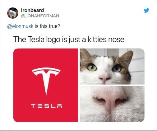Илон Маск окончательно раскрыл тайну логотипа Tesla 1