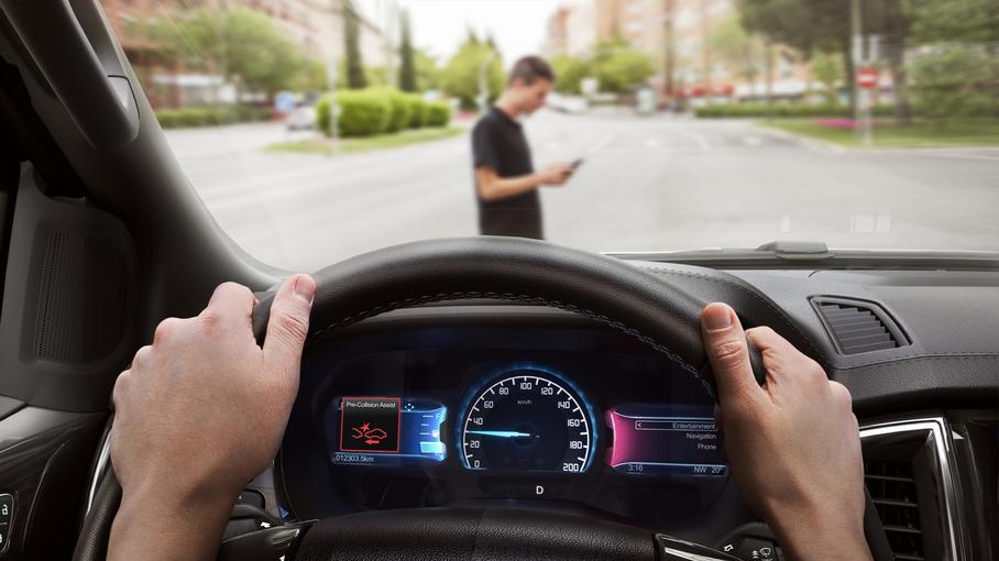 Система автоматического торможения пугает водителей 1