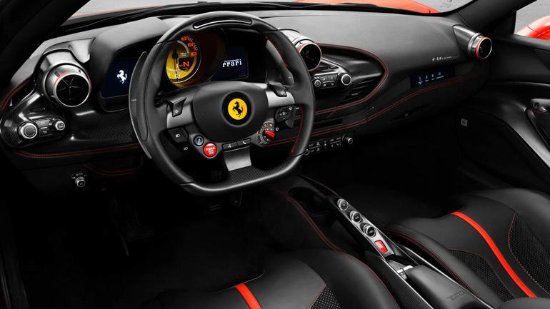 Родстер Ferrari F8 Spider представлен официально 2