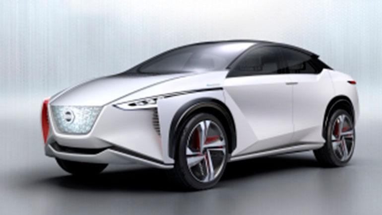 Nissan представит новый электрический кроссовер EV 1