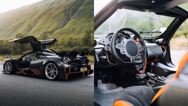Pagani представила лимитированную версию гиперкара Huayra Imola 1