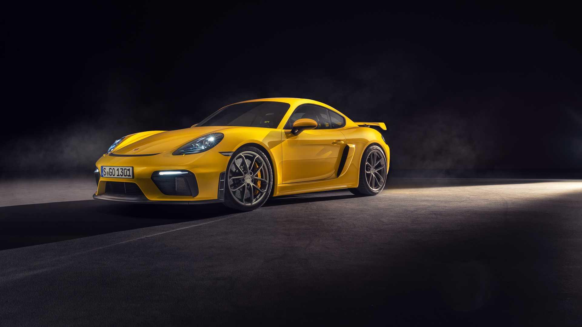 Porsche Cayman тоже превратится в электрокар 1