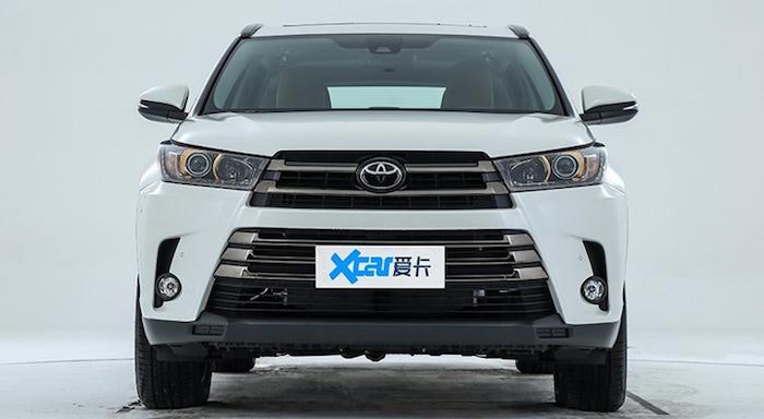 В Китае показали «другой» Toyota Highlander 1