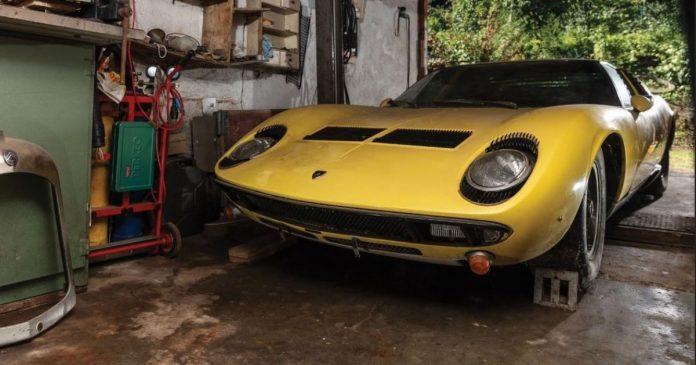 В продаже появится уникальная Lamborghini из заброшенного гаража 1