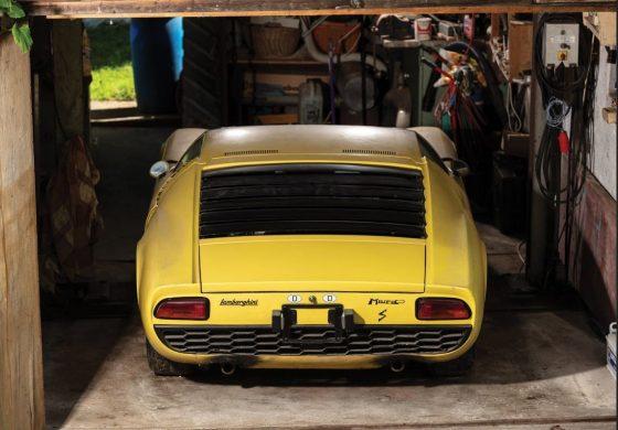В продаже появится уникальная Lamborghini из заброшенного гаража 2