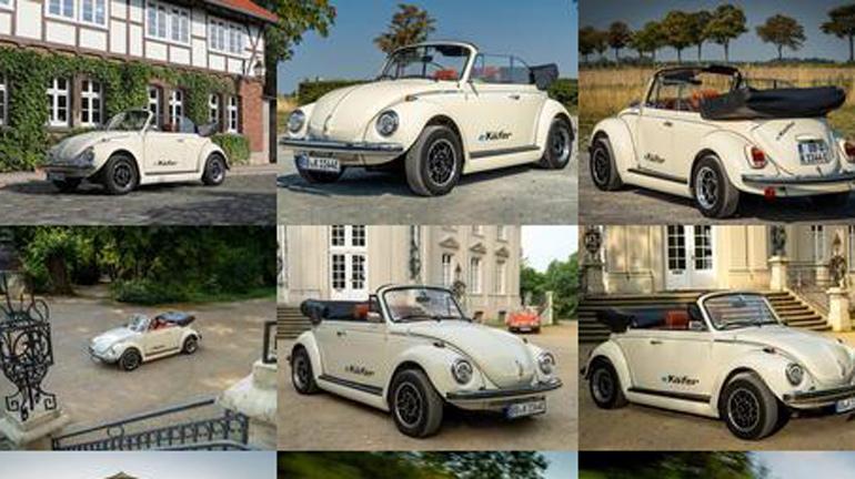 Классический Volkswagen Beetle переоборудовали в электрокар 1