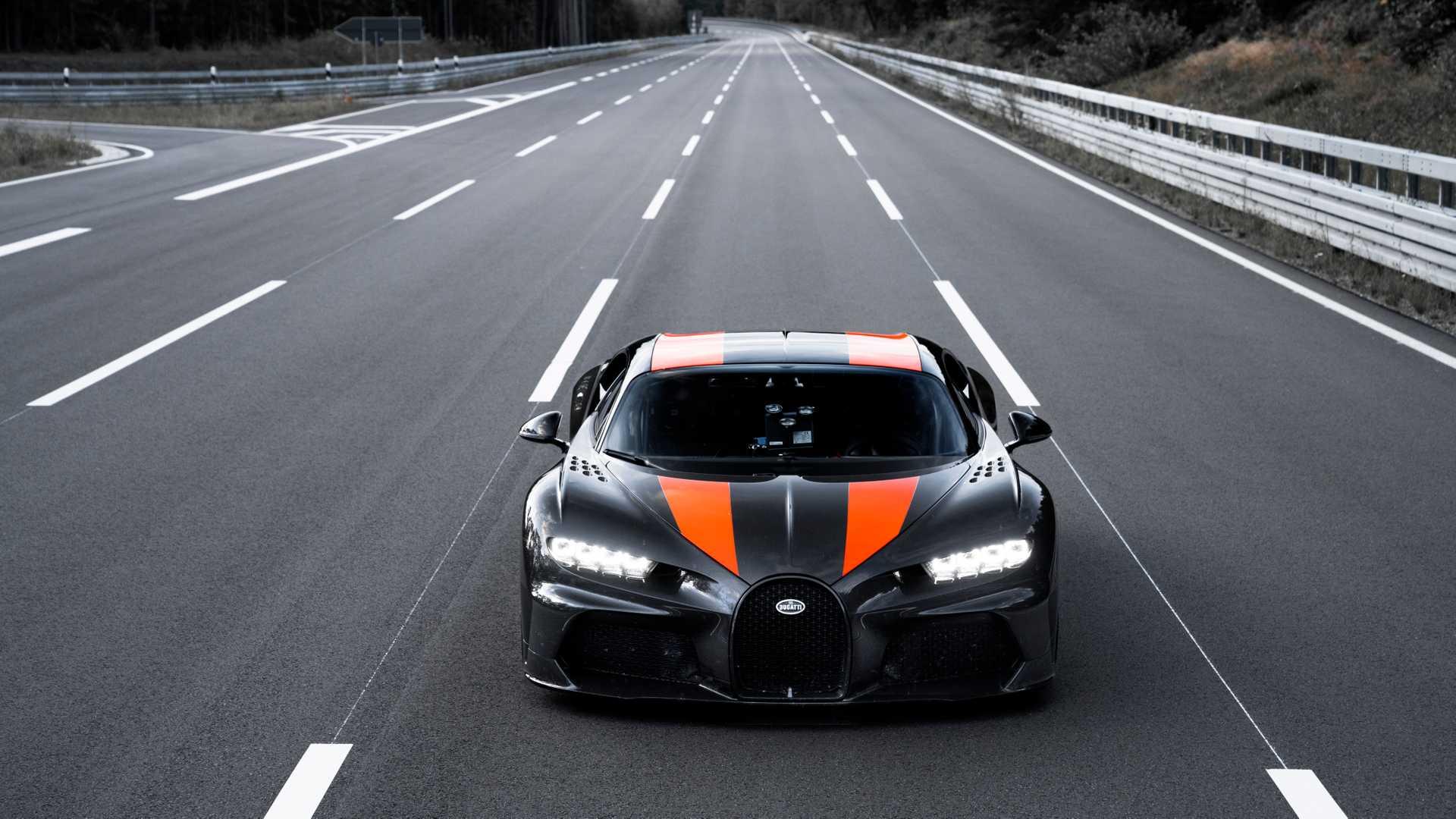 Bugatti Chiron может преодолеть барьер в 500 км/ч 1