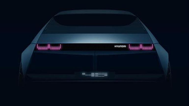 Hyundai в очередной раз представила свой ретро-концепт 45 EV 1