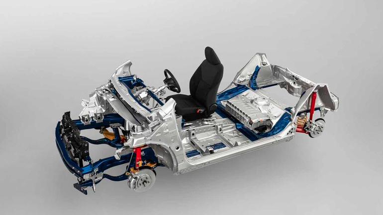 Toyota создала новую платформу для компактных автомобилей 1