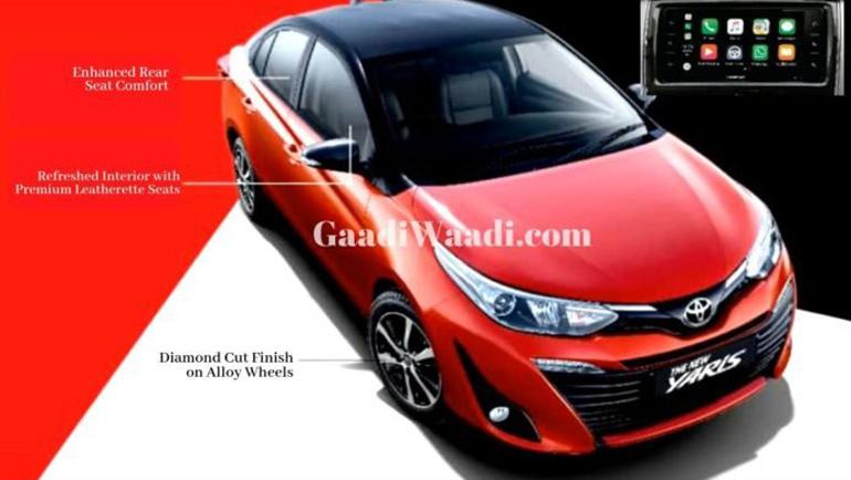 Опубликованы первые снимки обновленного Toyota Yaris 1