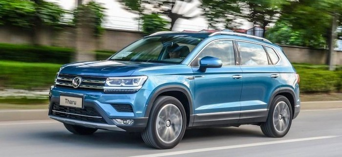 Кроссовер Volkswagen Tharu побил по продажам Kia Sportage 1