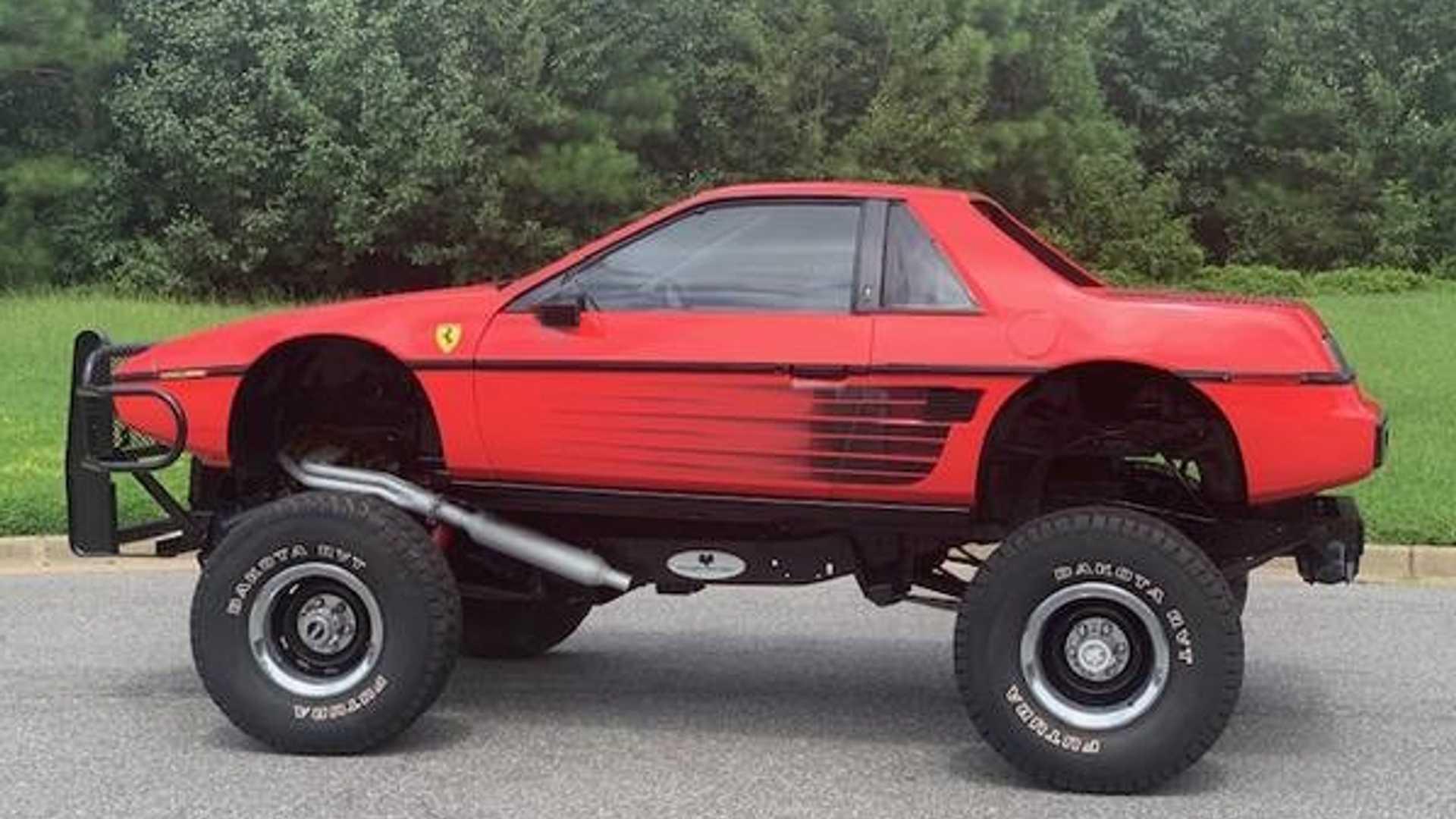 Фальшивый внедорожник Ferrari выставили на продажу 1