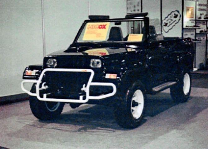 Псевдо Jeep Wrangler удивил своей начинкой 2