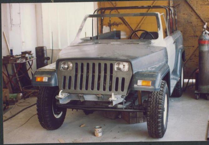 Псевдо Jeep Wrangler удивил своей начинкой 1