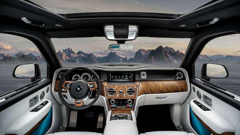 Каким может быть пикап Rolls-Royce Cullinan 2