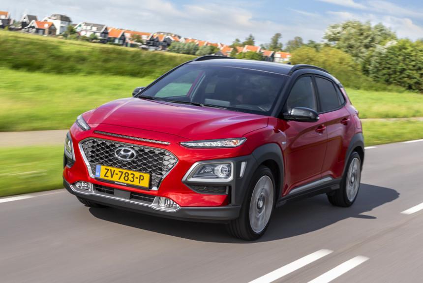 У паркетника Hyundai Kona появилась гибридная версия 1