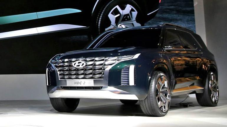 Новый Hyundai Tucson станет трехрядным 1