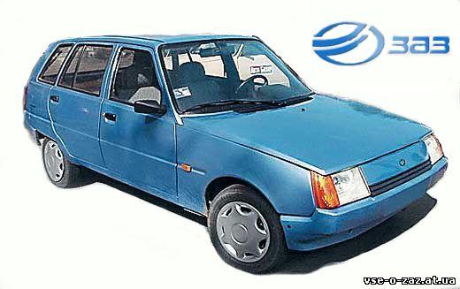 Каким мог быть «народный» автомобиль ЗАЗ-1105 «Дана» 2