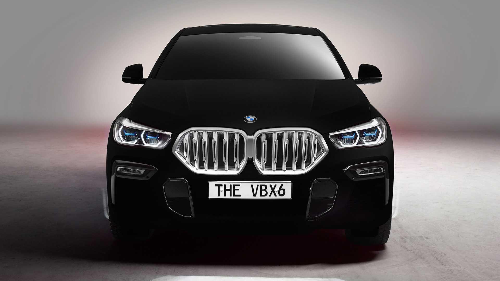 BMW показала самый черный X6 1