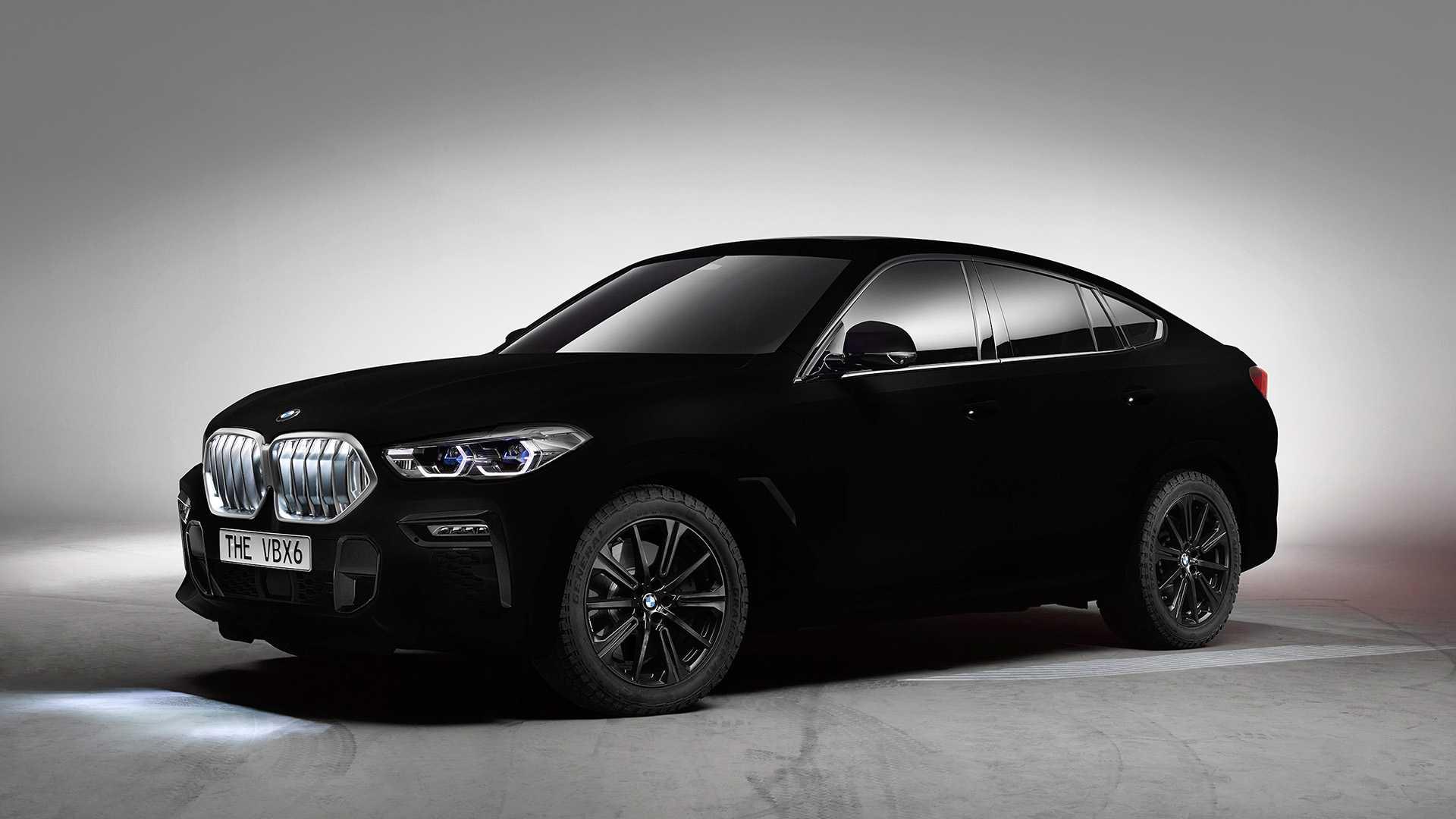 BMW показала самый черный X6 2