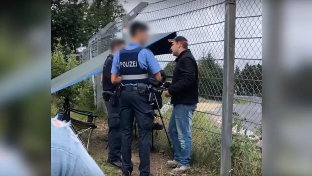 Автора популярного YouTube-канала задержали за съёмку аварий и дрифта на Нюрбургринге 1