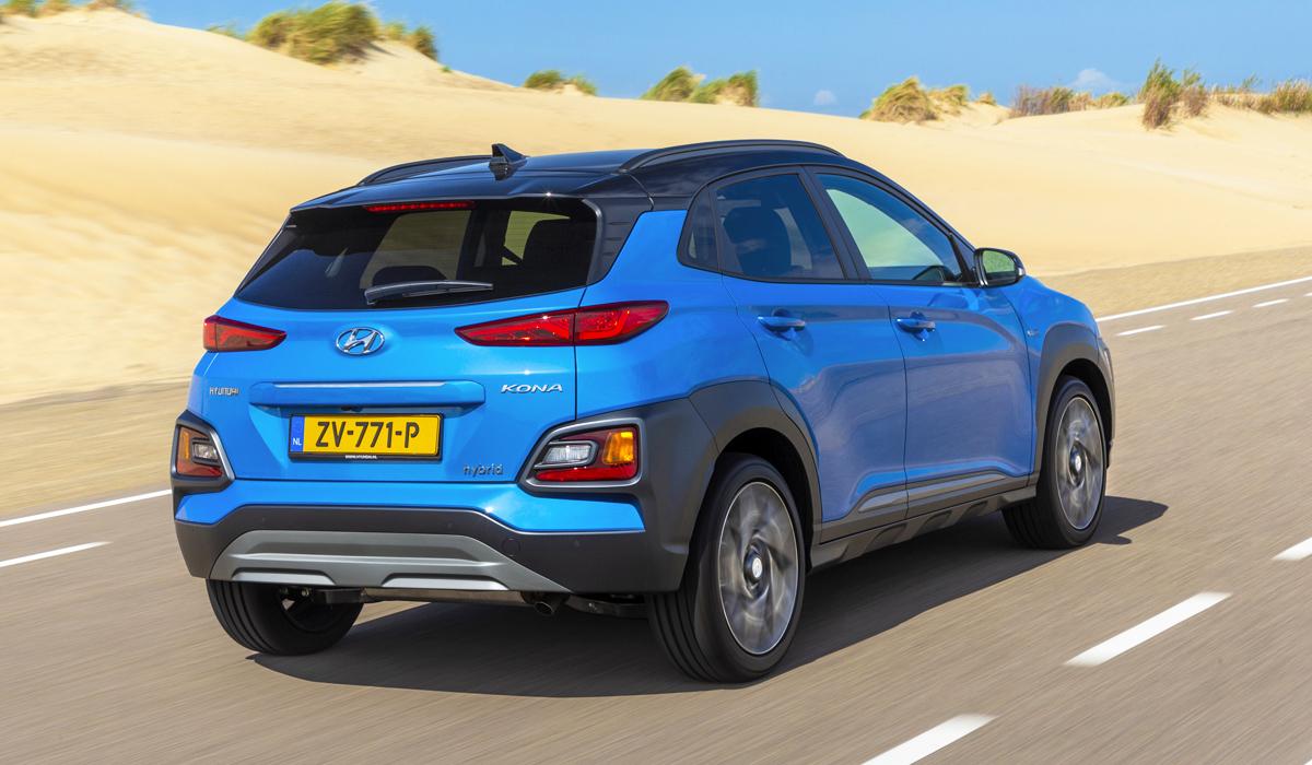 У паркетника Hyundai Kona появилась гибридная версия 2