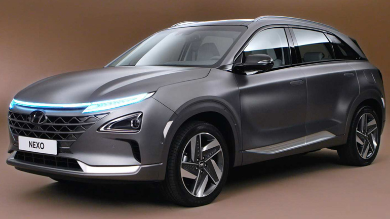 Компания Hyundai представила кроссовер NEXO на топливных элементах 1