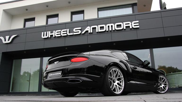 Ателье Wheelsandmore создало 784-сильный Bentley Continental GT 1