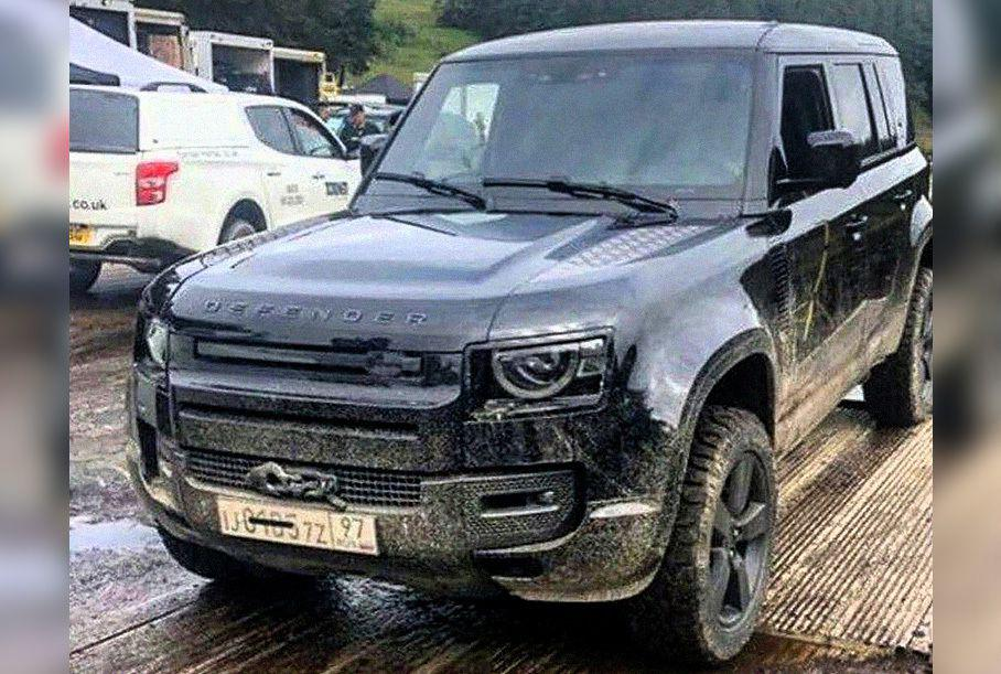 Новый Land Rover Defender стал автомобилем Джеймса Бонда 1