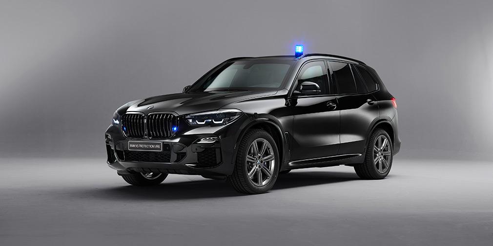 BMW X5 защитили от выстрелов из «Калашникова» 1