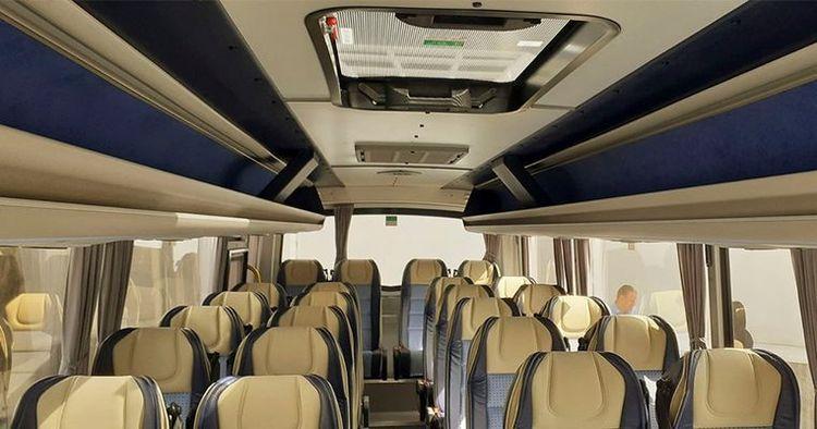 Управление госохраны купило интересные автобусы 1