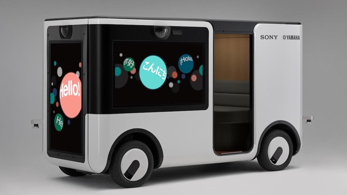 Sony и Yamaha создали автономную машину без окон 1