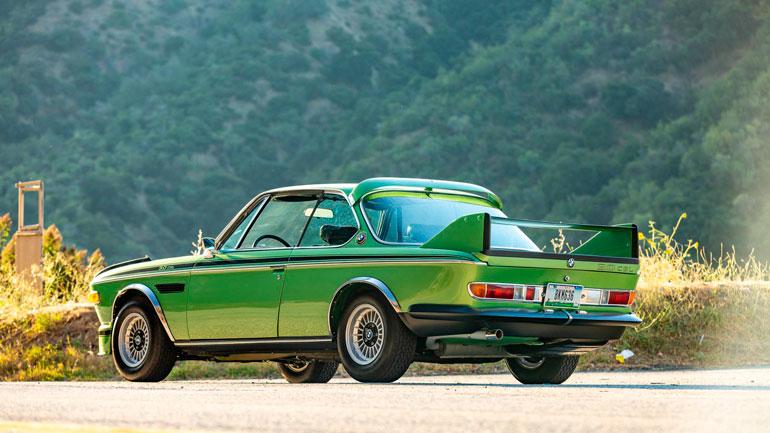 Бэтмобиль BMW 3.0 CSL 1974 года уйдет с молотка 1