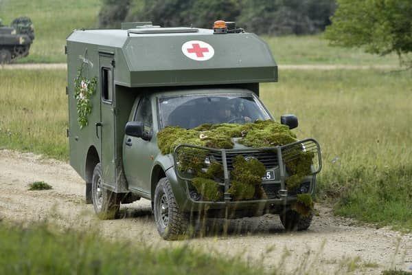 Чем удивил санитарный автомобиль Богдан на учениях в Германии 1