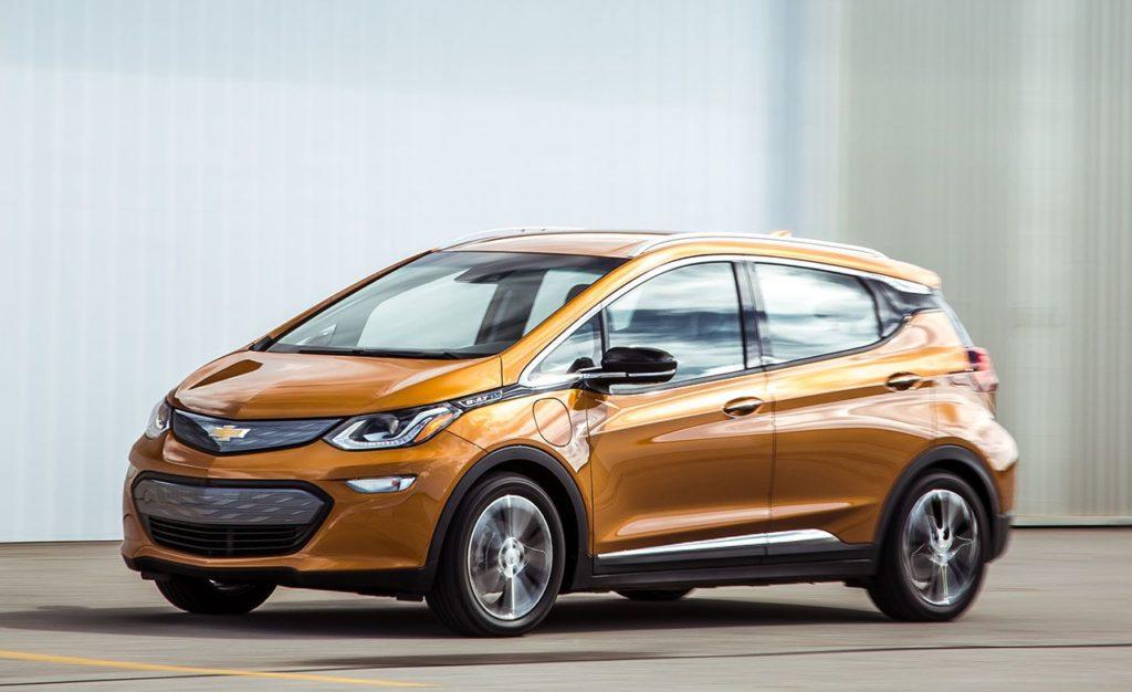 Chevrolet Bolt EV получил обновлённую батарею 1