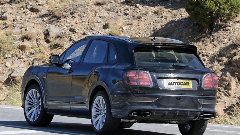 Обновленный Bentley Bentayga впервые замечен на тестах 2