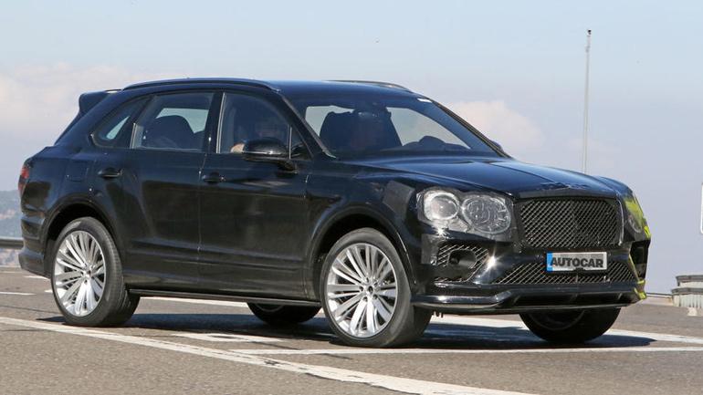 Обновленный Bentley Bentayga впервые замечен на тестах 1