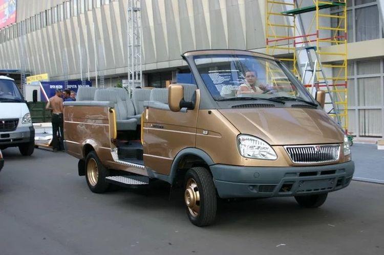 В сети показали уникальную ГАЗель-кабриолет 1