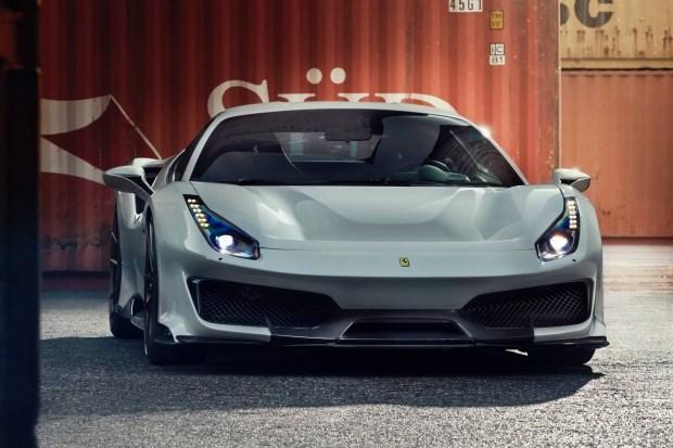 Специалисты Novitec доработали Ferrari 488 Pista 1