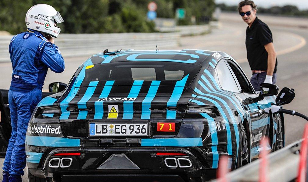 Первый электрокар Porsche совершил 24-часовой заезд на выносливость 2