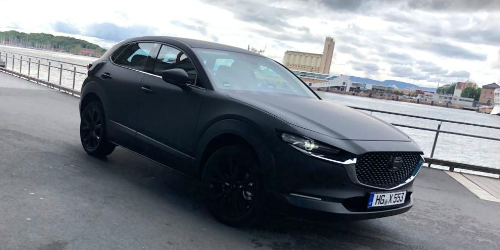 Mazda приступила к тестам первого электрокара 1