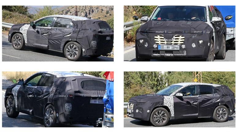 Новый Hyundai Tucson впервые замечен на тестах 1
