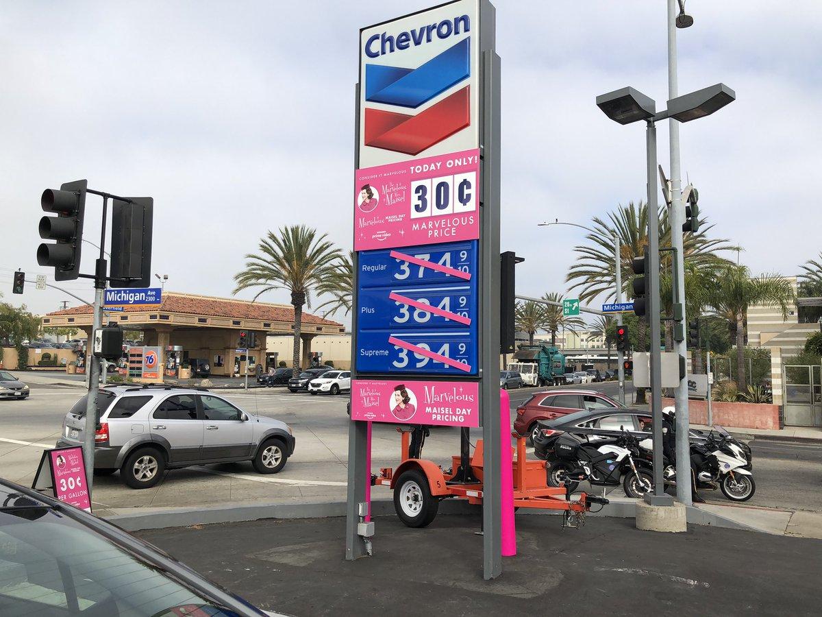 На АЗС внезапно появился бензин по 30 центов 1