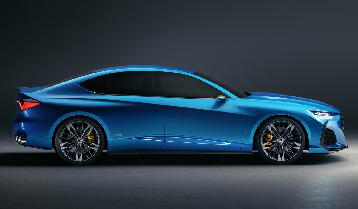 Acura Type S предвещает возвращение мощных версий 2