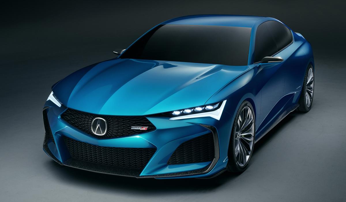 Acura Type S предвещает возвращение мощных версий 1